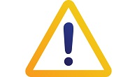 warning sign icon