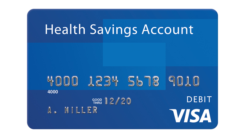 Visa Health Savings Account Card