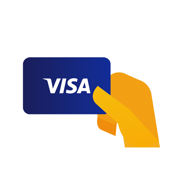 Take your Visa card out of your wallet